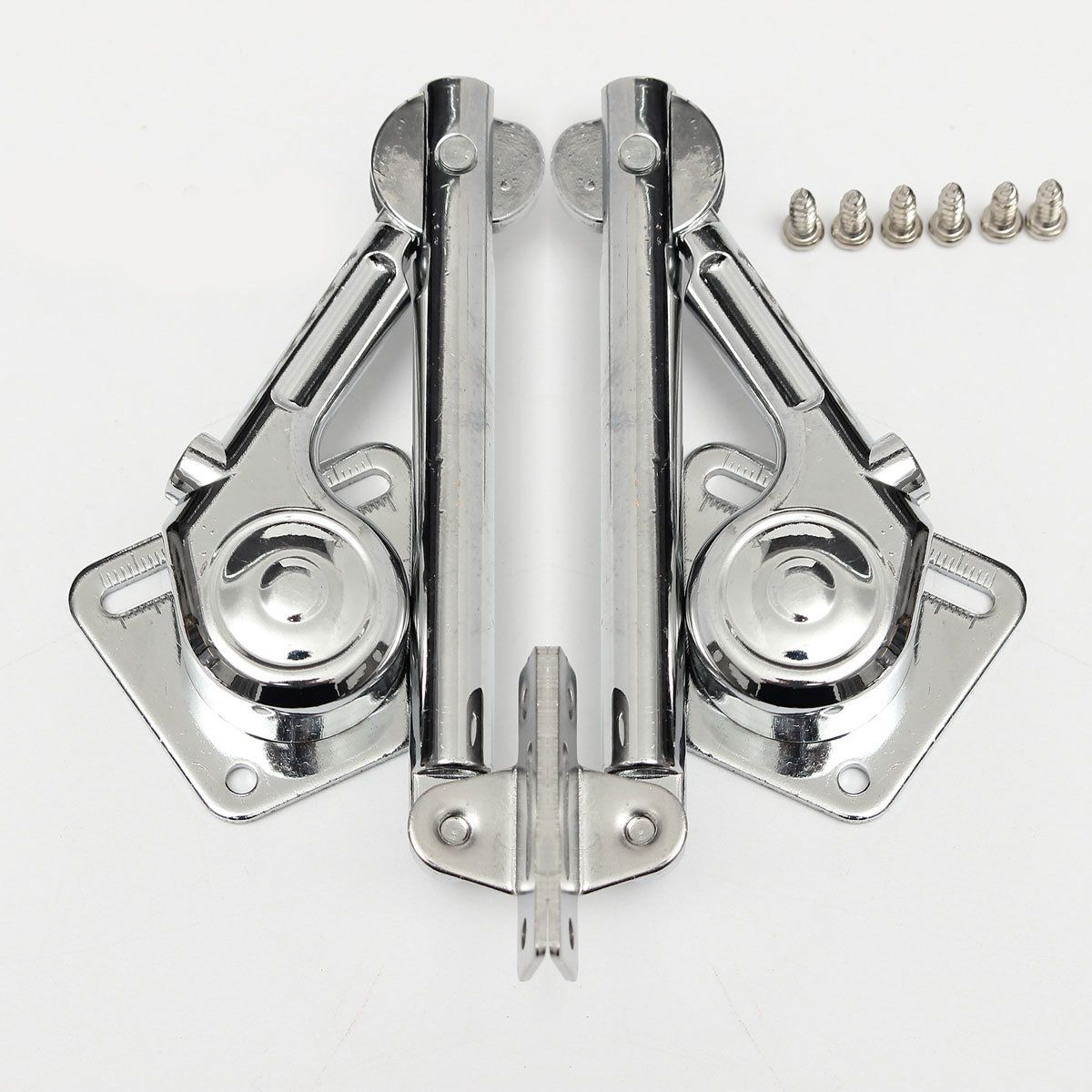 2 pcs Lift Up and Down Lid Support Door Stays for kitchen Cupboard ...