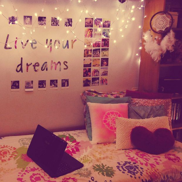 Diy tumblr inspired room decor ideas easy fun room for Bed decoration diy