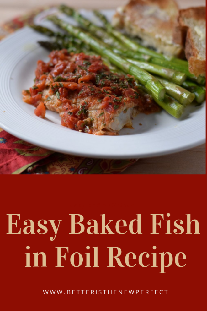 how to cook fish such as cod and tilapia in foil packets
