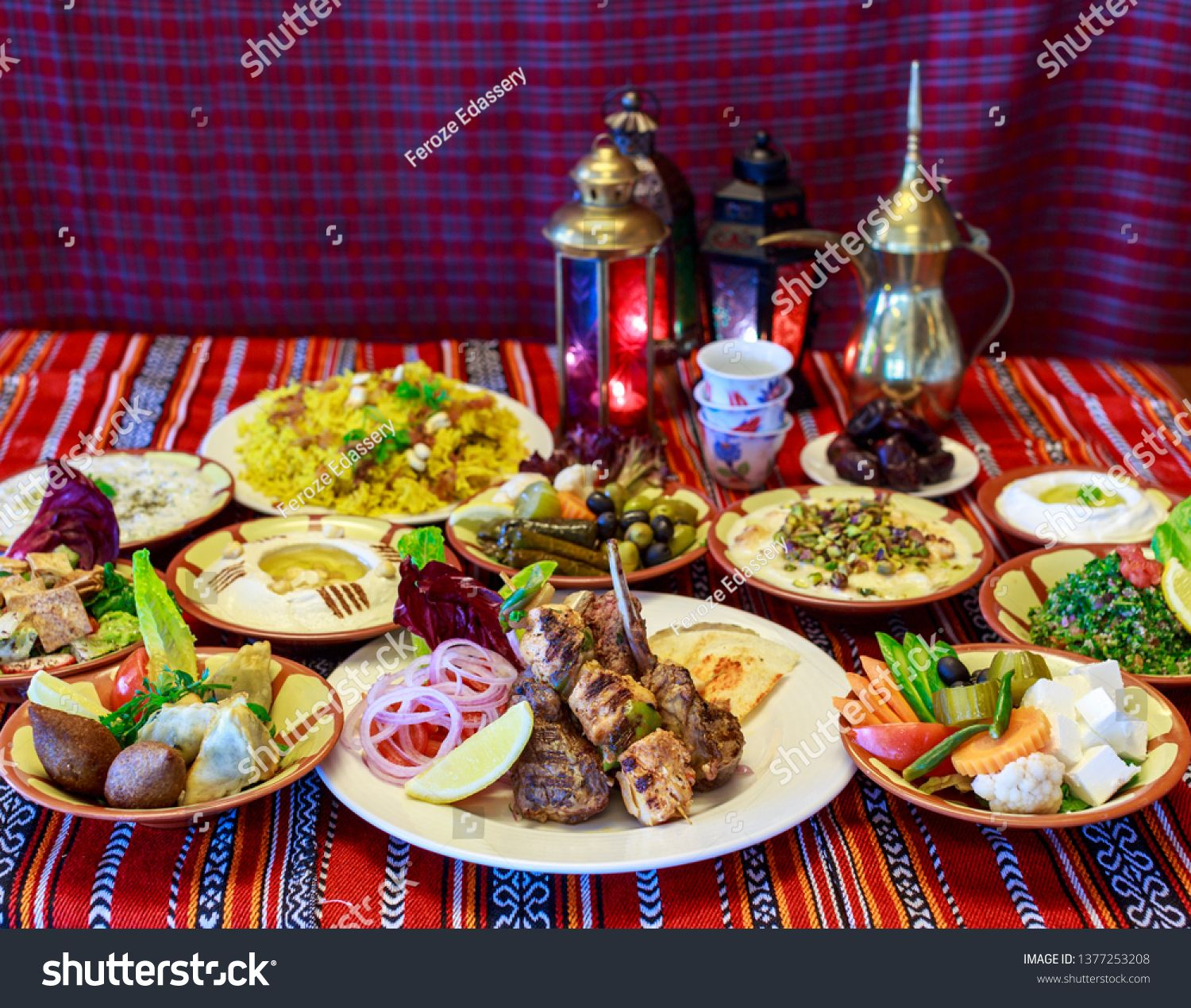 Ramadan Iftar Buffet Food Served Royalty Free Images Photo In 2020