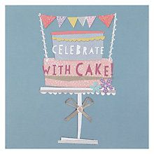 Buy hotchpotch cake birthday card online at johnlewis cards buy hotchpotch cake birthday card online at johnlewis stopboris Image collections