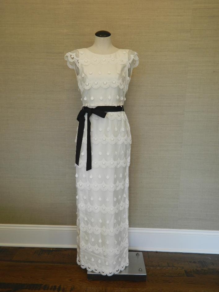 eb8ffd6b328e www.stores.ebay.com/the-paisley-petunia $1800 JCrew Juliet Gown 8 Silk  Organza Lace Long Dress Bride Wedding ivory #JCrew #BallGown #Formal