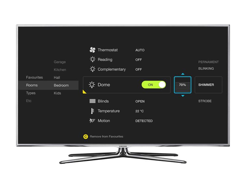 Smart Home UI For Smart TV Part 88