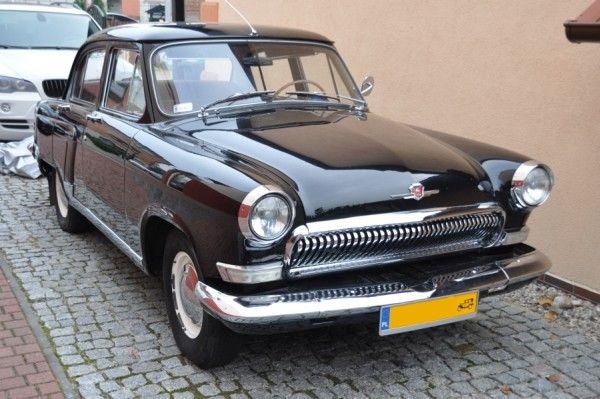 Wolga 1961r Czarna Wolga Legenda Prl Dream Cars Old Cars Vehicles