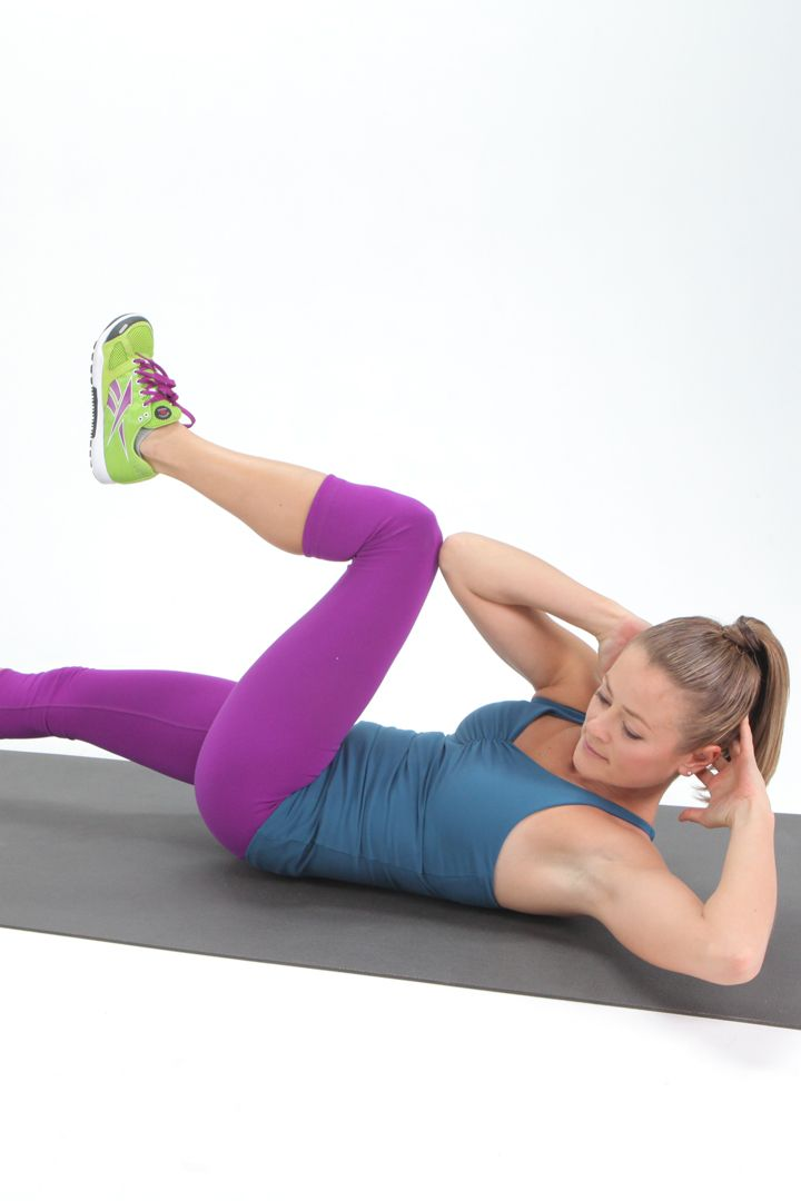 How To Do A Bicycle Crunch Abs Workout Video Workout Six Pack