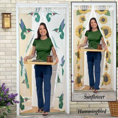Magnetic Decorative Mesh Instant Screen Door Instant Screen Door Instant Screen Collections Etc