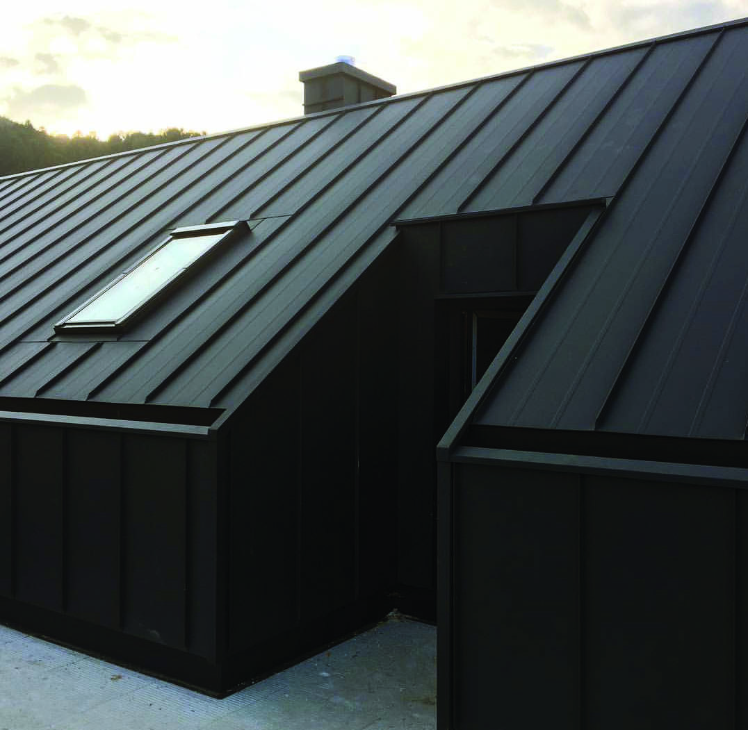 Metal Roofing Homes Tre House Cladding Metal Roof Houses House Exterior