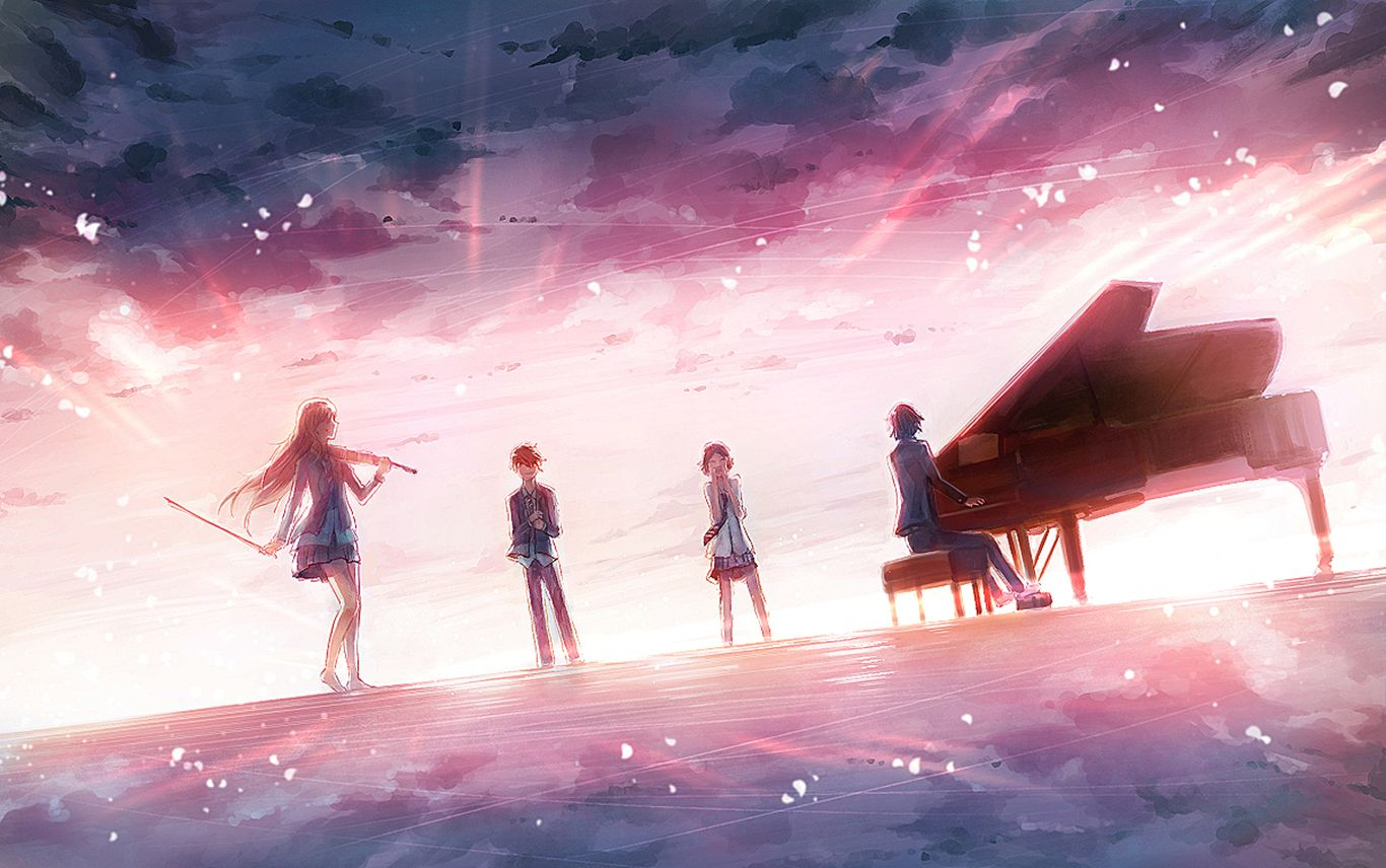 Good Love Quotes Wallpapers Your Lie In April Wallpaper Dump Imgur Your Lie In