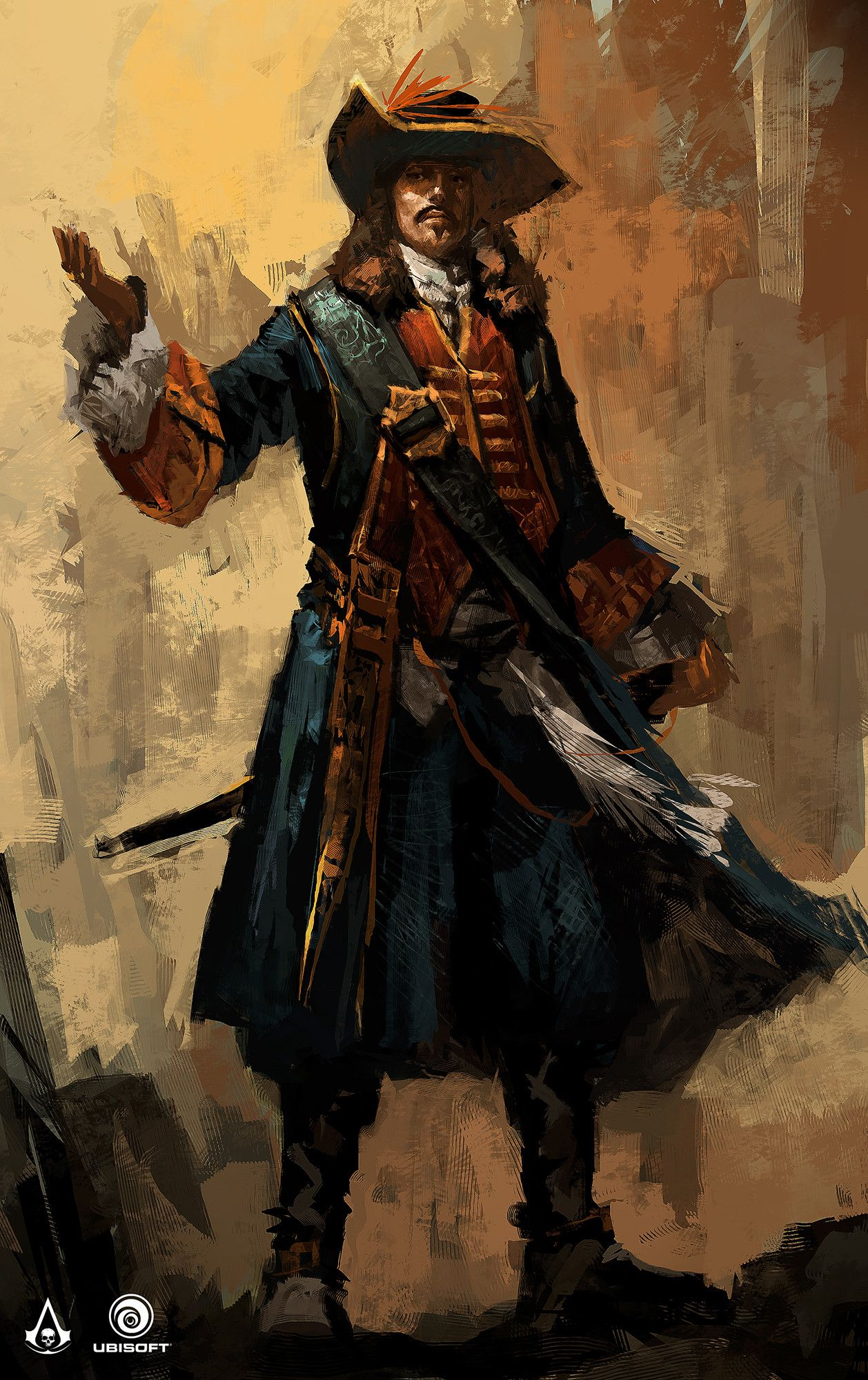Assassin S Creed Iv Black Flag Characters Concept Teo Yong Jin Assassins Creed Black Flag Pirate Art Character Concept