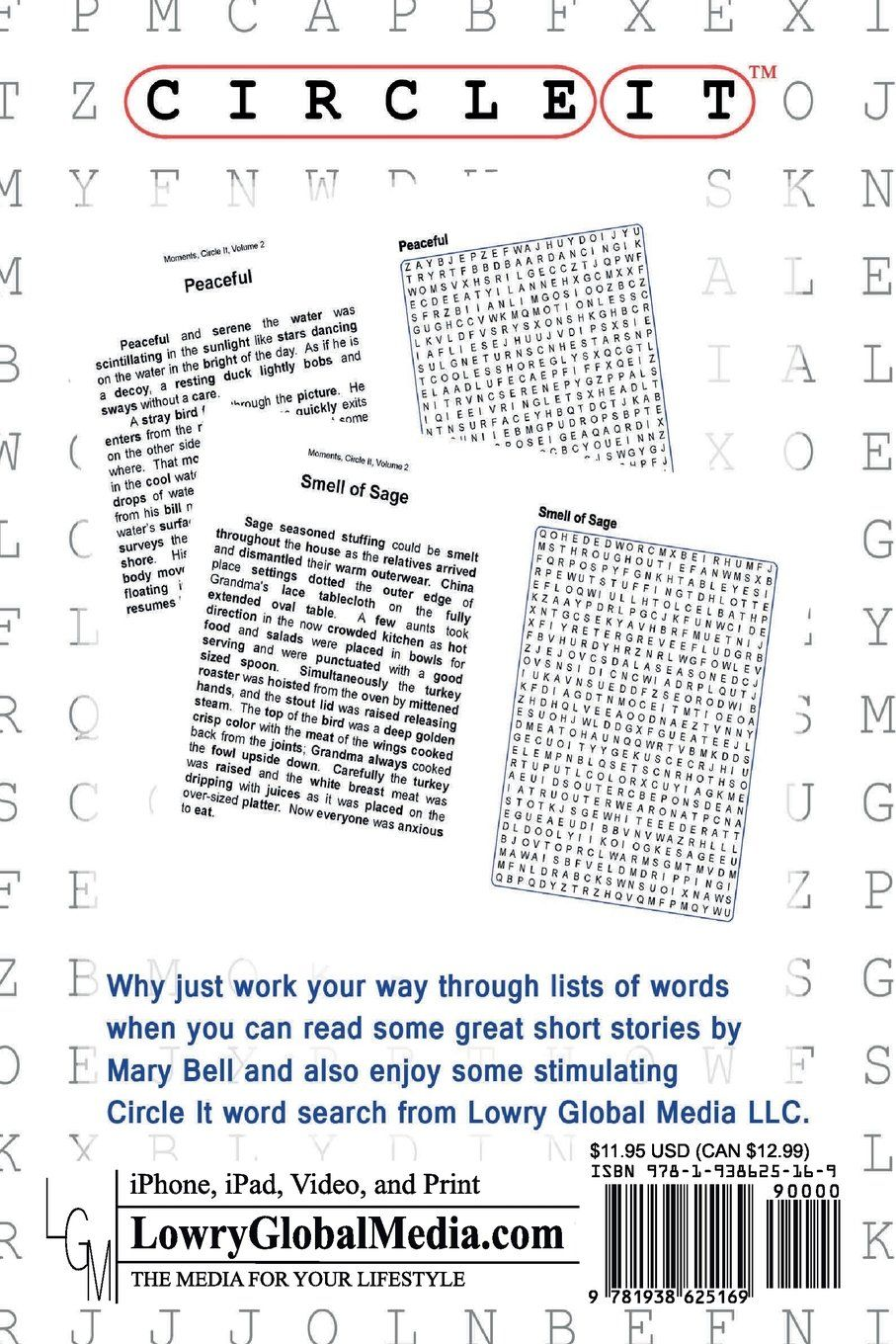circle it moments word search puzzle book lowry global media