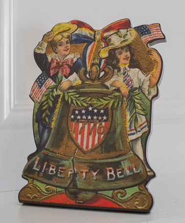 This Liberty Bell Children Vintage Cutout is perfect! #zulilyfinds 9.99