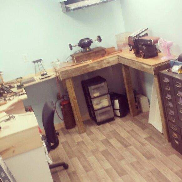 The House of lolahSoul aka our Jewelry Studio is coming along nicely. Uber excited!!!