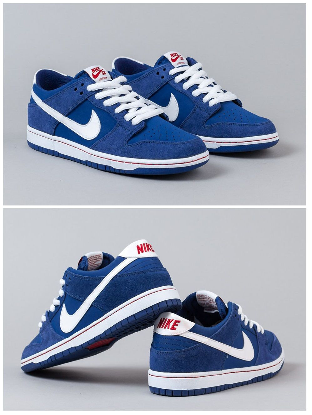 Ishod Wair x Nike SB Dunk Low: Blue. Sneakers ...