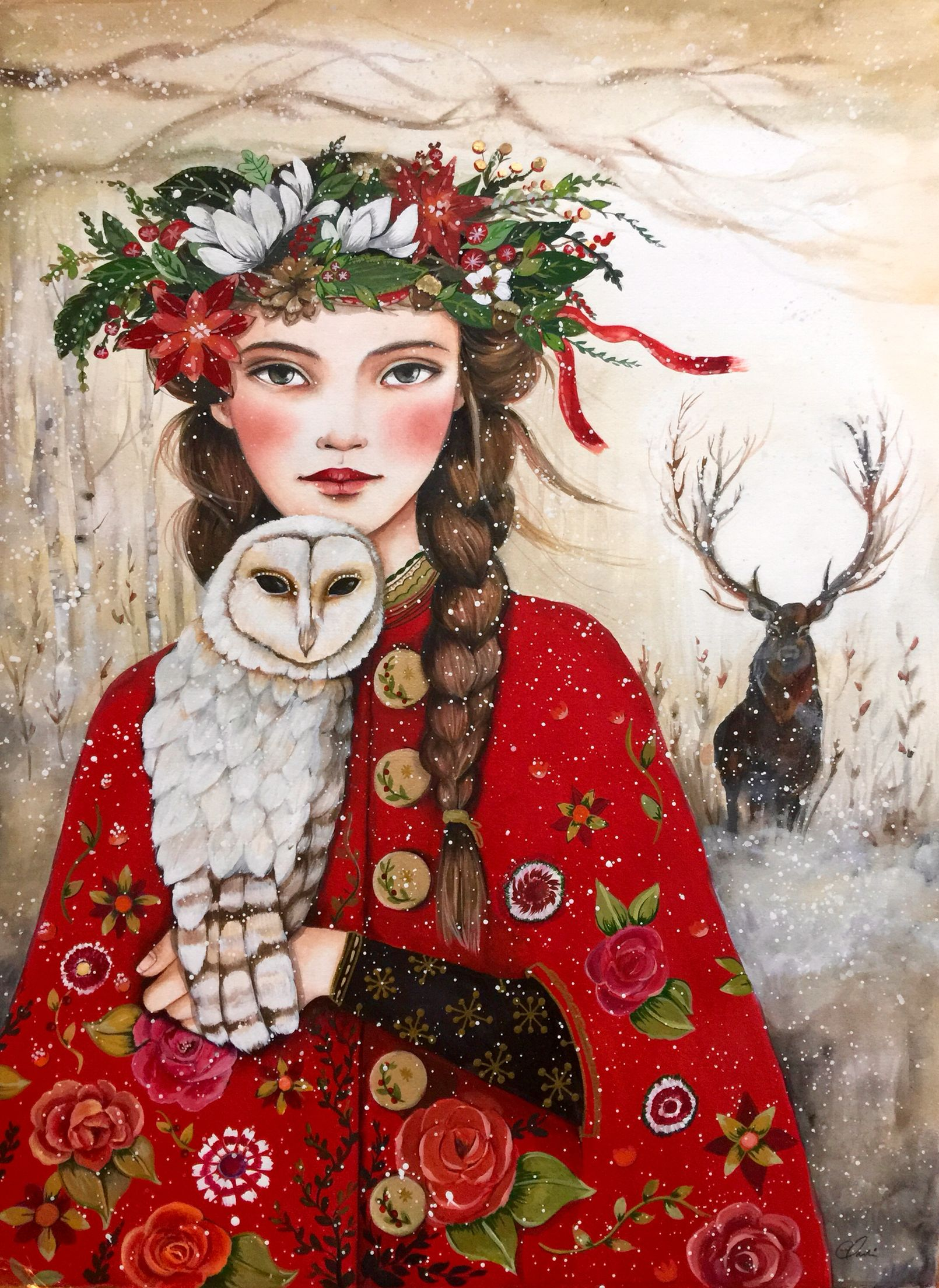Solstice Art by Claudia Tremblay