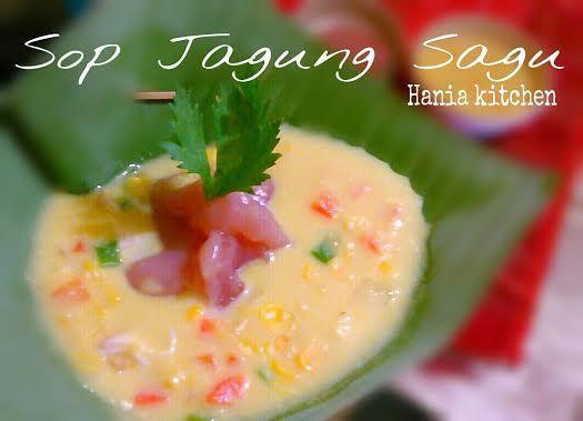 Sop Jagung Sagu Oleh Dame Tobing Resep Makanan Resep Masakan Indonesia Jagung