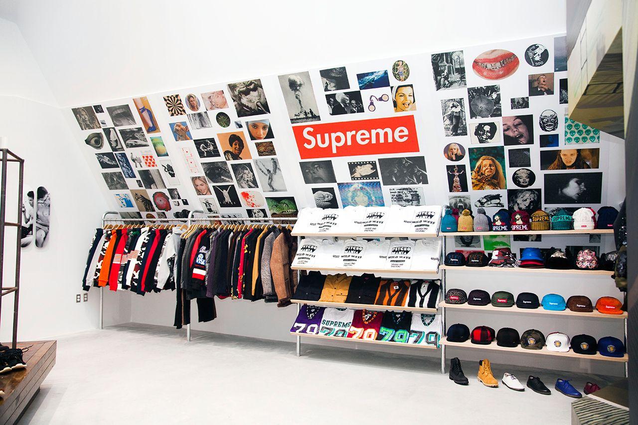 T shirt design hong kong - Image Of Supreme For Dover Street Market New York T Shirt