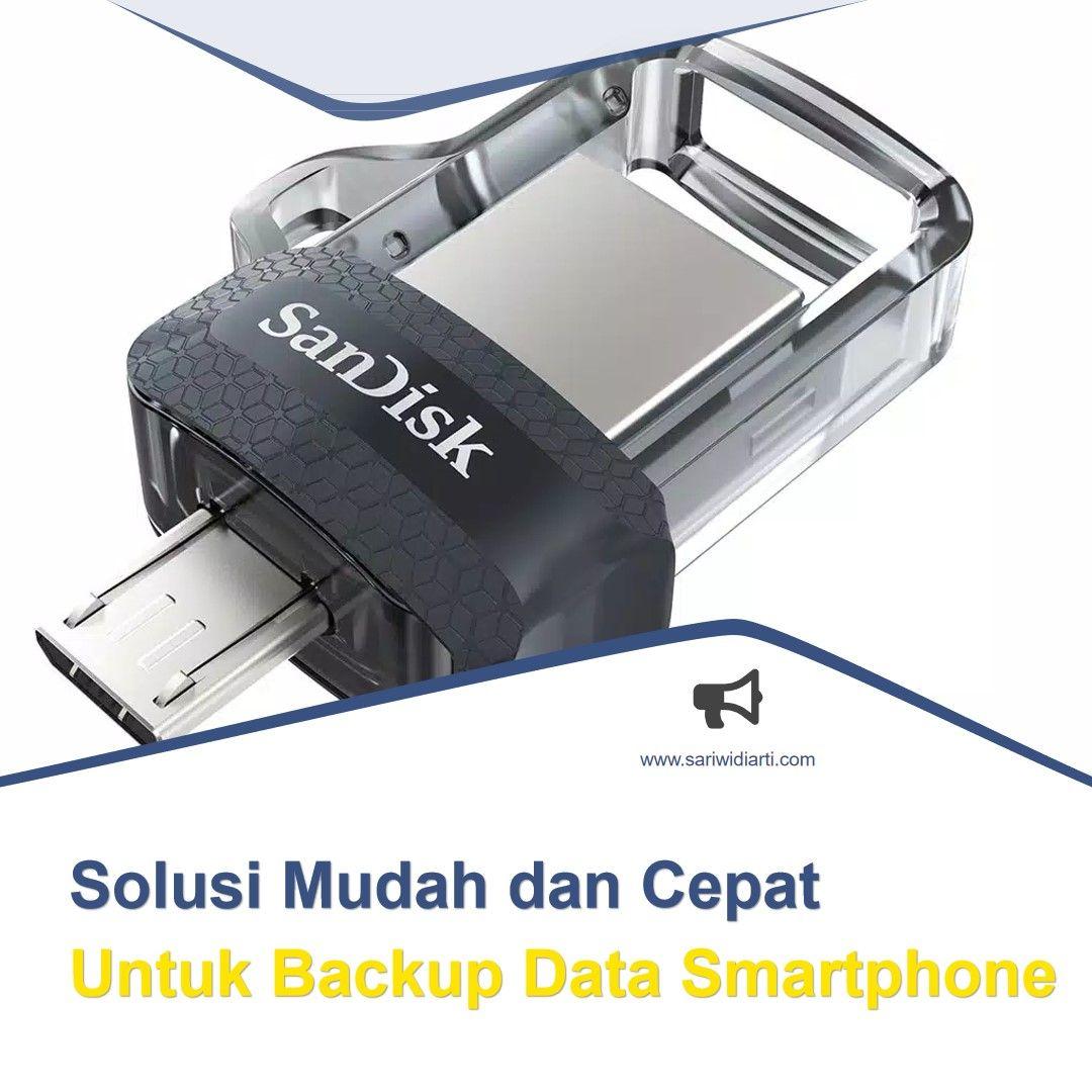 cara cepat dan mudah backup data smartphone
