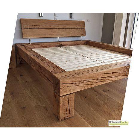 Bett extra hoch Balkenbett Liegehöhe 59cm Artikelnummer