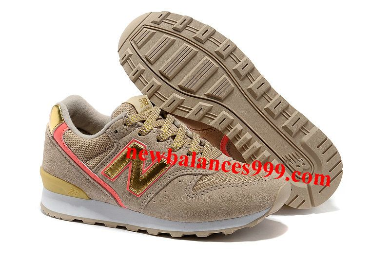 Clean New Balance 996 Beauty & Youth Retro Sand Peach Gold Womens Sneakers