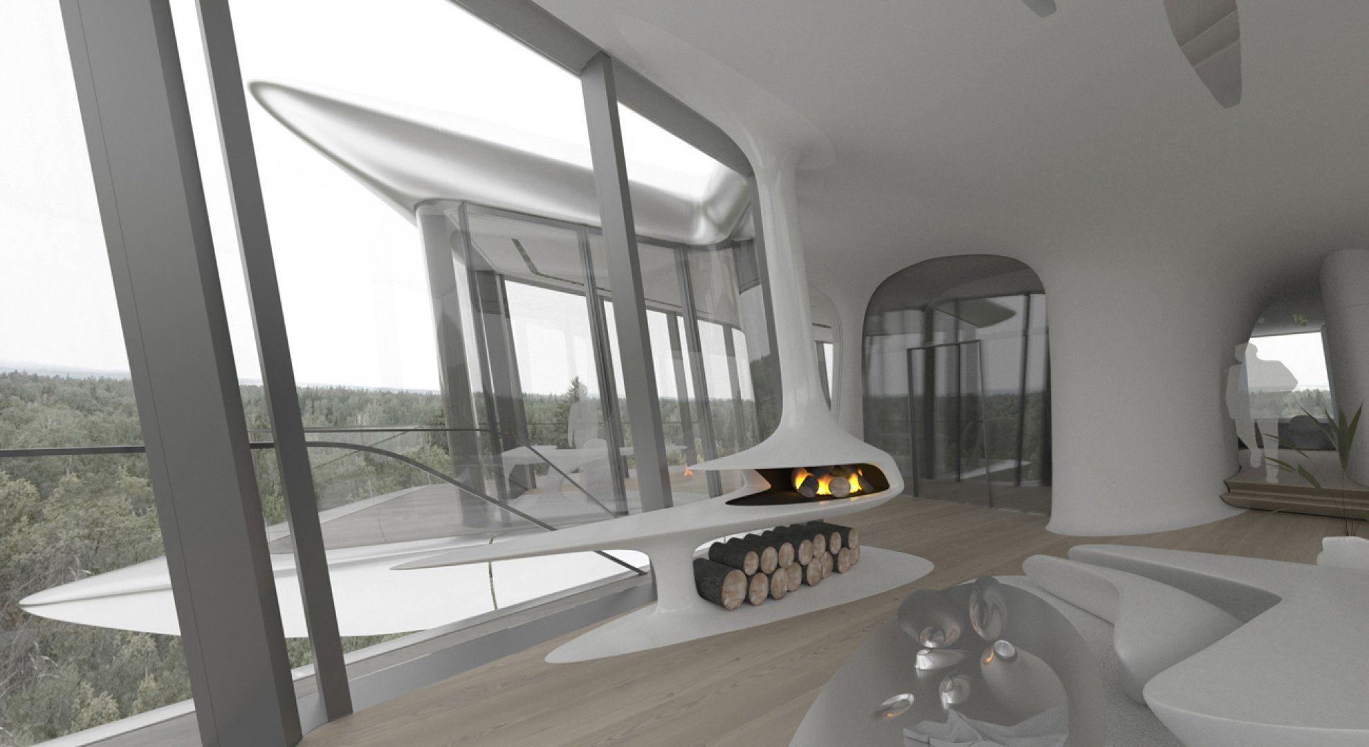 Capital Hill Residence - Interior Design - Zaha Hadid Architects ...