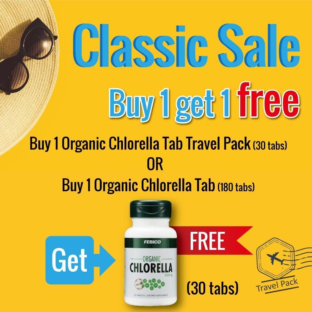 Febico Organic Chlorella Is With No Binders, No Artificial