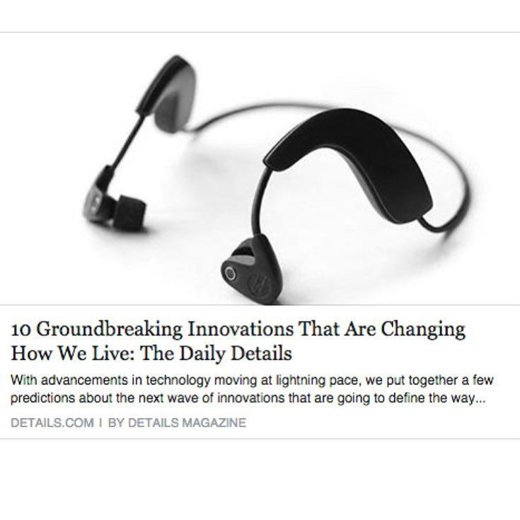 """An awesome Virtual Reality pic! @detailsmag names #hookeaudio  1 of 10 Groundbreaking Innovations That Are Changing How We Live""""  Read the full article by clicking link in our bio!  #3dsound #3daudio #virtualreality #binaural #technology #oculus #nyc #startup #headphones #microphones by hookeaudio check us out: http://bit.ly/1KyLetq"""
