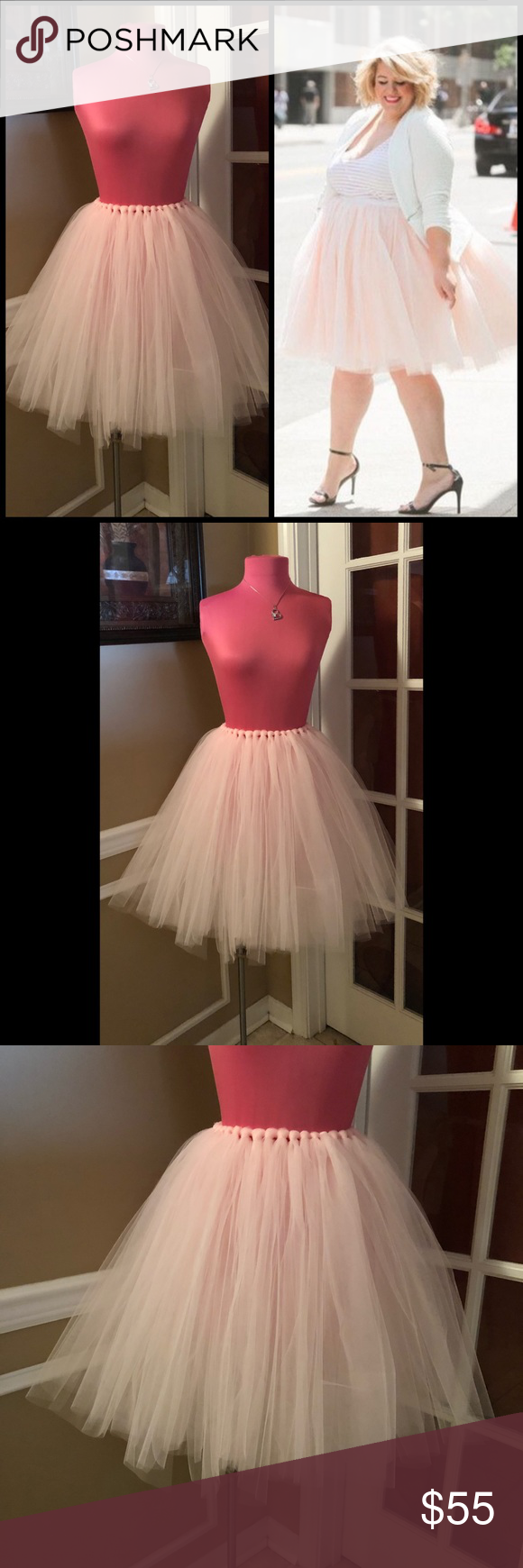 •Custom• Ballerina Pink Tutu Skirt Boutique Pink tutu