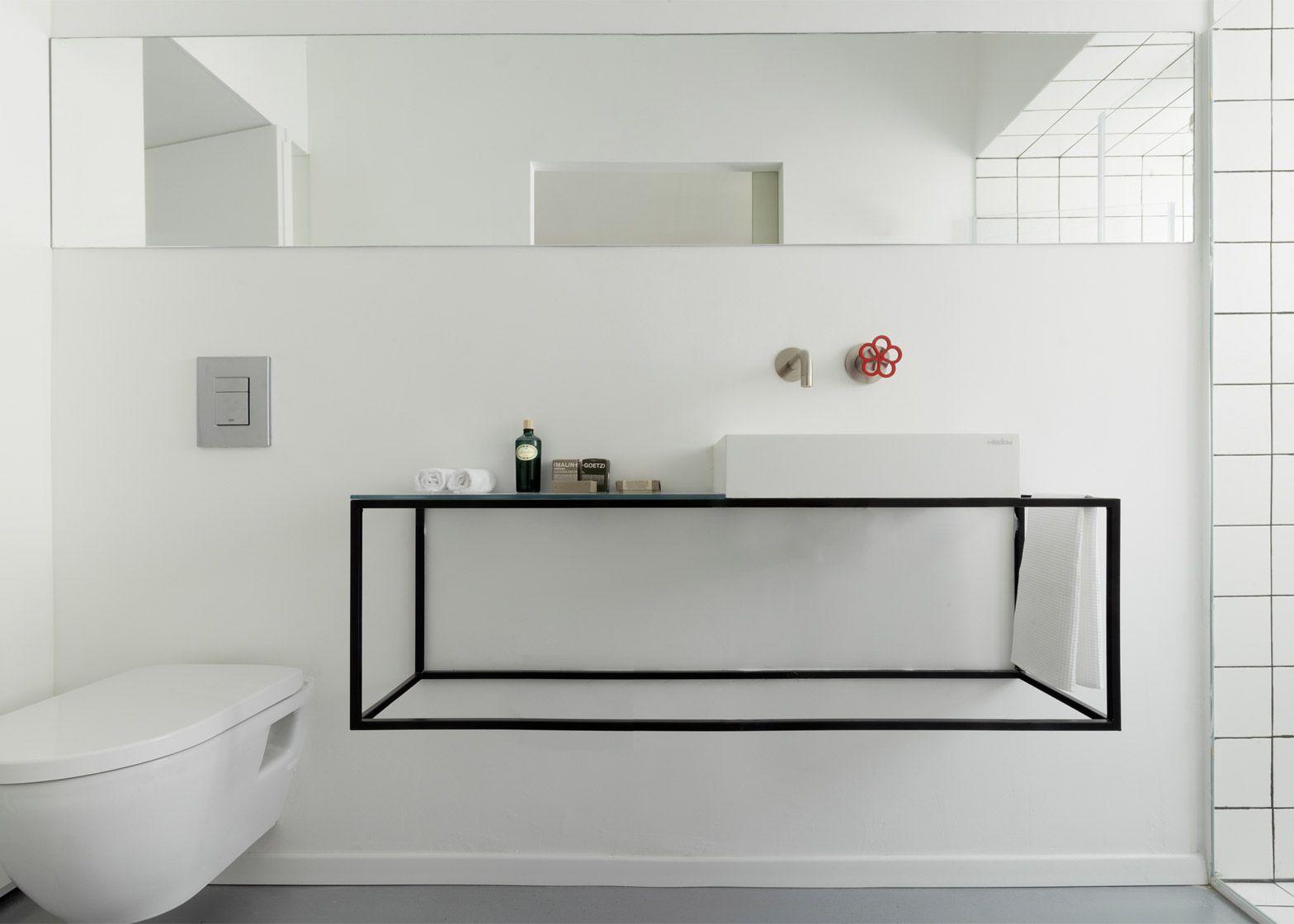 MINIMALIST BATHROOM - TEL AVIV APARTMENT RENOVATION l interior ...