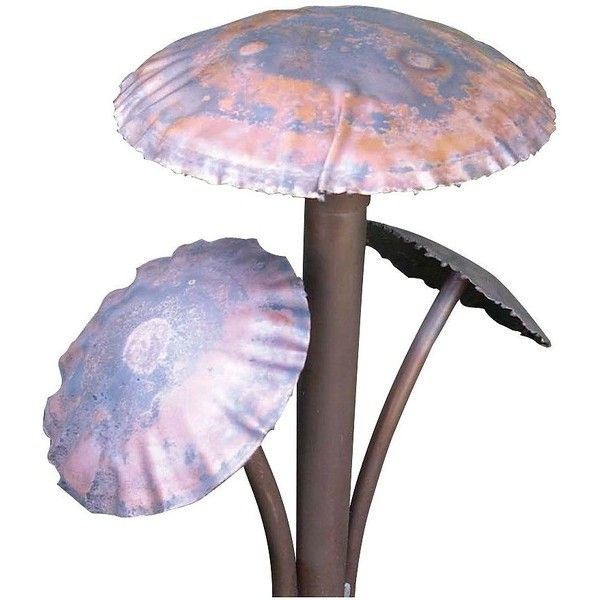 Hadco Hand Crafted 14 1 2 High Mushroom Path Light 27354 405 Liked On Polyvore Handcraft Decor Lamps Plus