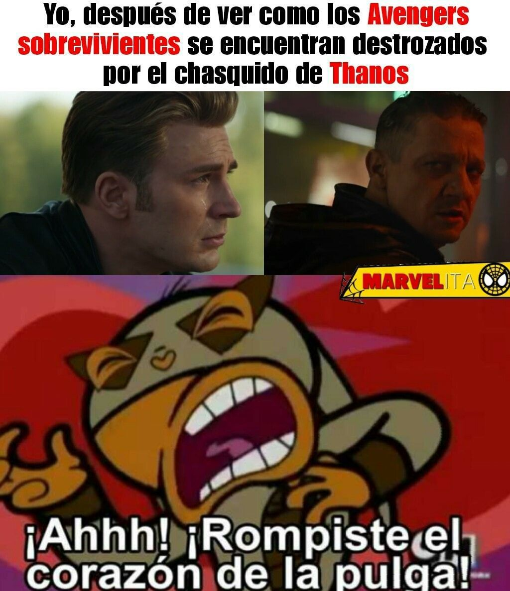 Memes Marvel #2 – #14 (Avengers EndGame)