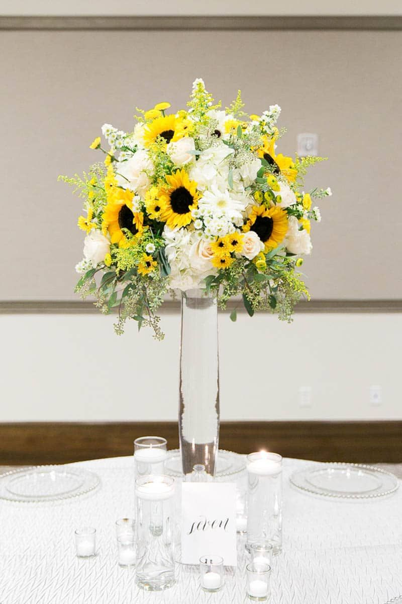 Black and White Sunflower Wedding | Pinterest | Sunflower wedding ...
