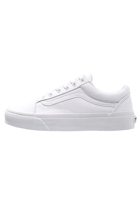 OLD SKOOL Skateschoenen true white @ Zalando.nl