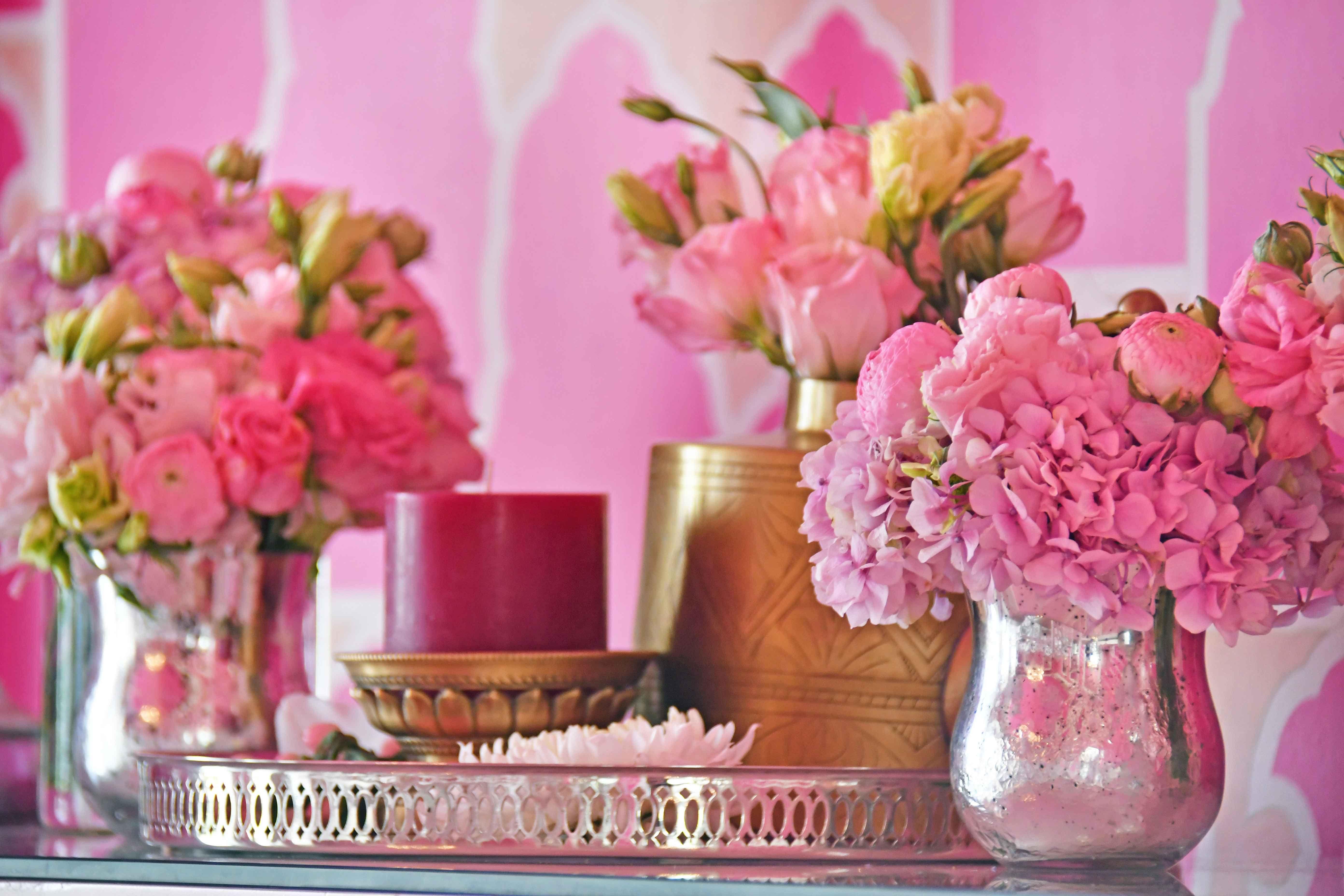Indian flower decor