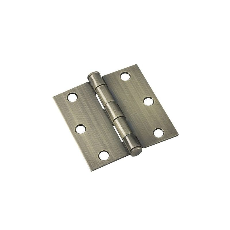 Richelieu 821 B Antique Brass Door Hinges Brass