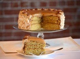 Vegan Dulce de Leche Cake!!!!