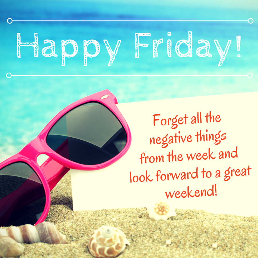 Happy Friday! Hope you all have a great weekend
