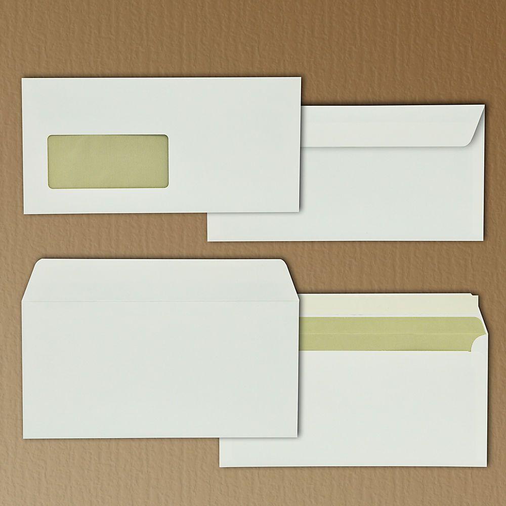 Briefumschlag Extrarough 50 Stück Din Lang 220 X 110 Mm 120 Gqm