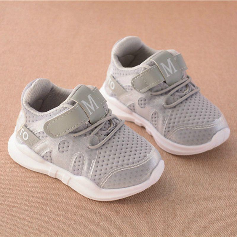 1c41d67deb913 acheter Enfants Chaussures pour Garçons Sneakers Bébé Casual Filles de  Course Enfants Blanc Sport Chaussures De Mode Lumière Plat Doux Respirant  PU En Cuir