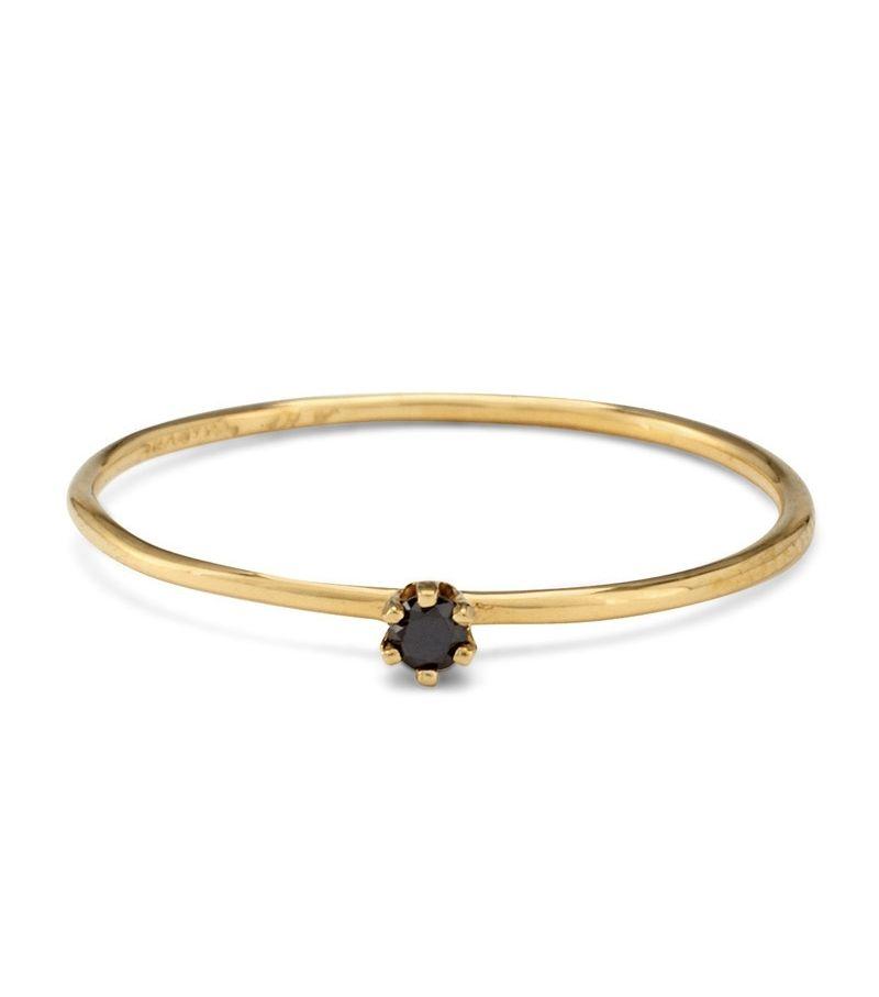 Satomi Kawakita: The Tiniest Ring, Black Diamond | Catbird NYC