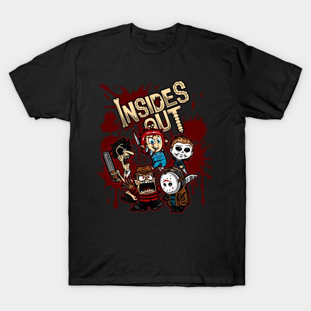Deadly Feelings - Horror Movie Mashup T-Shirt - Th