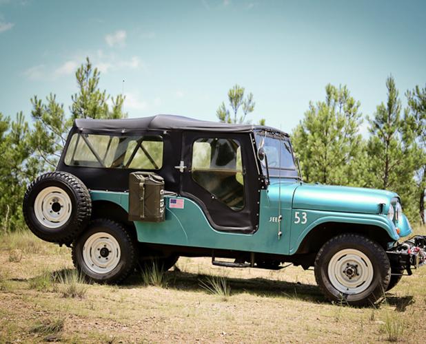 Jeep Cj Jeep Cj 6 Back To The Portfolio History Another Cj Model