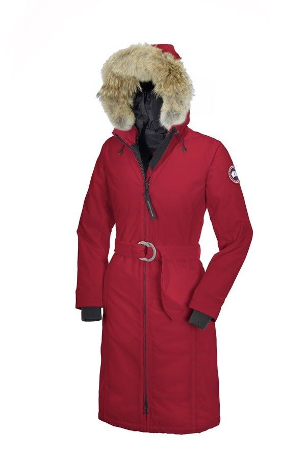 canada goose femme rouge