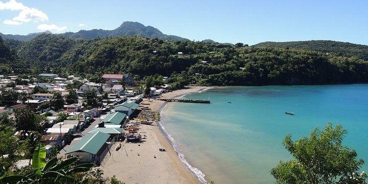 Beach, St. Lucia