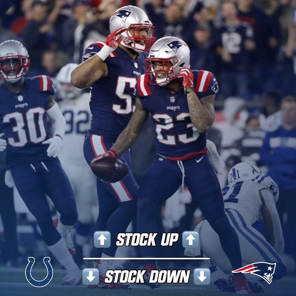 1 454 Likes 35 Comments New England Patriots Fan Page Patr1ots On Instagram My Stock Up Stock Down Vs India New England Patriots Patriots Fans Patriots