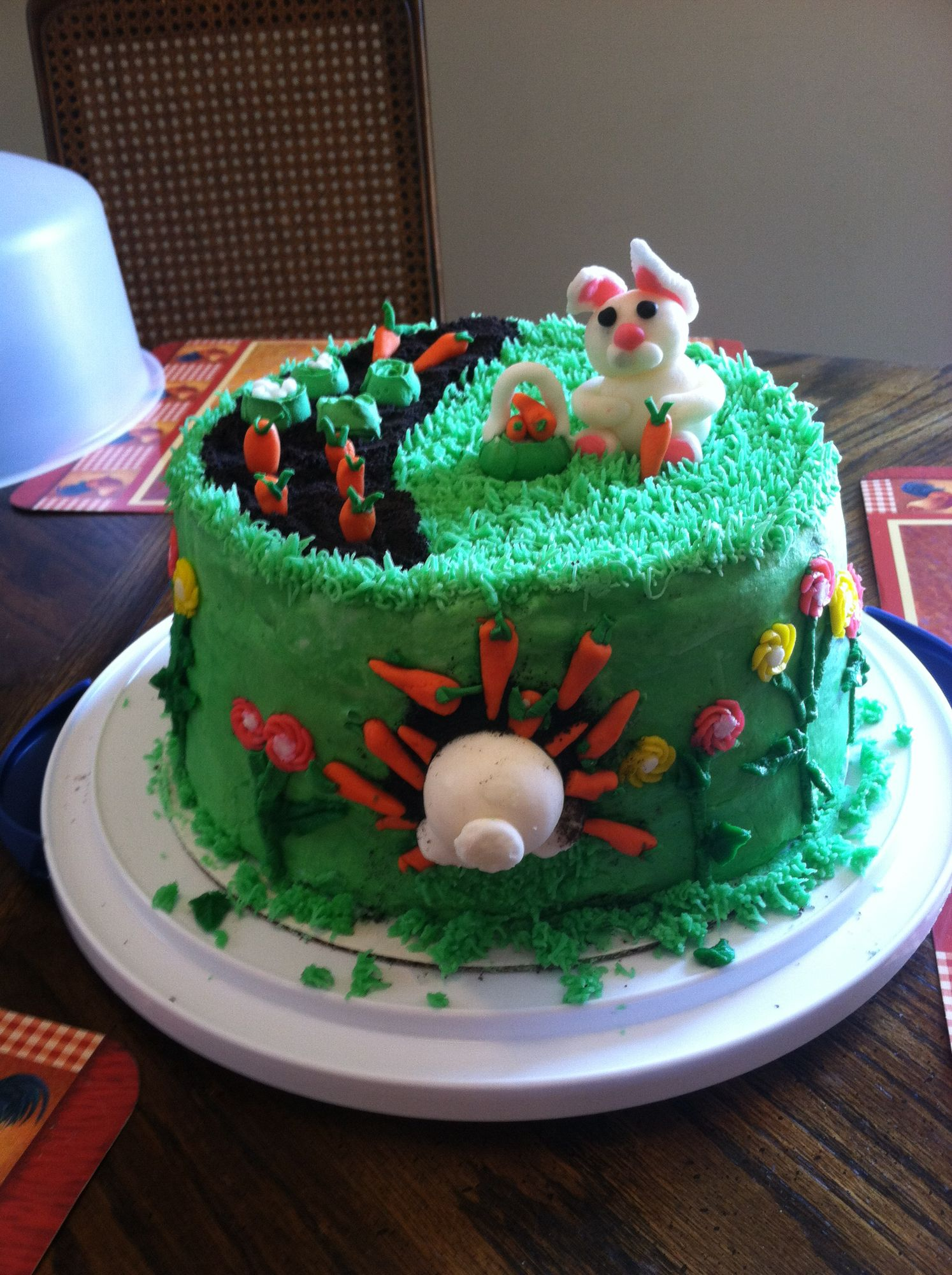 Easter themed cake