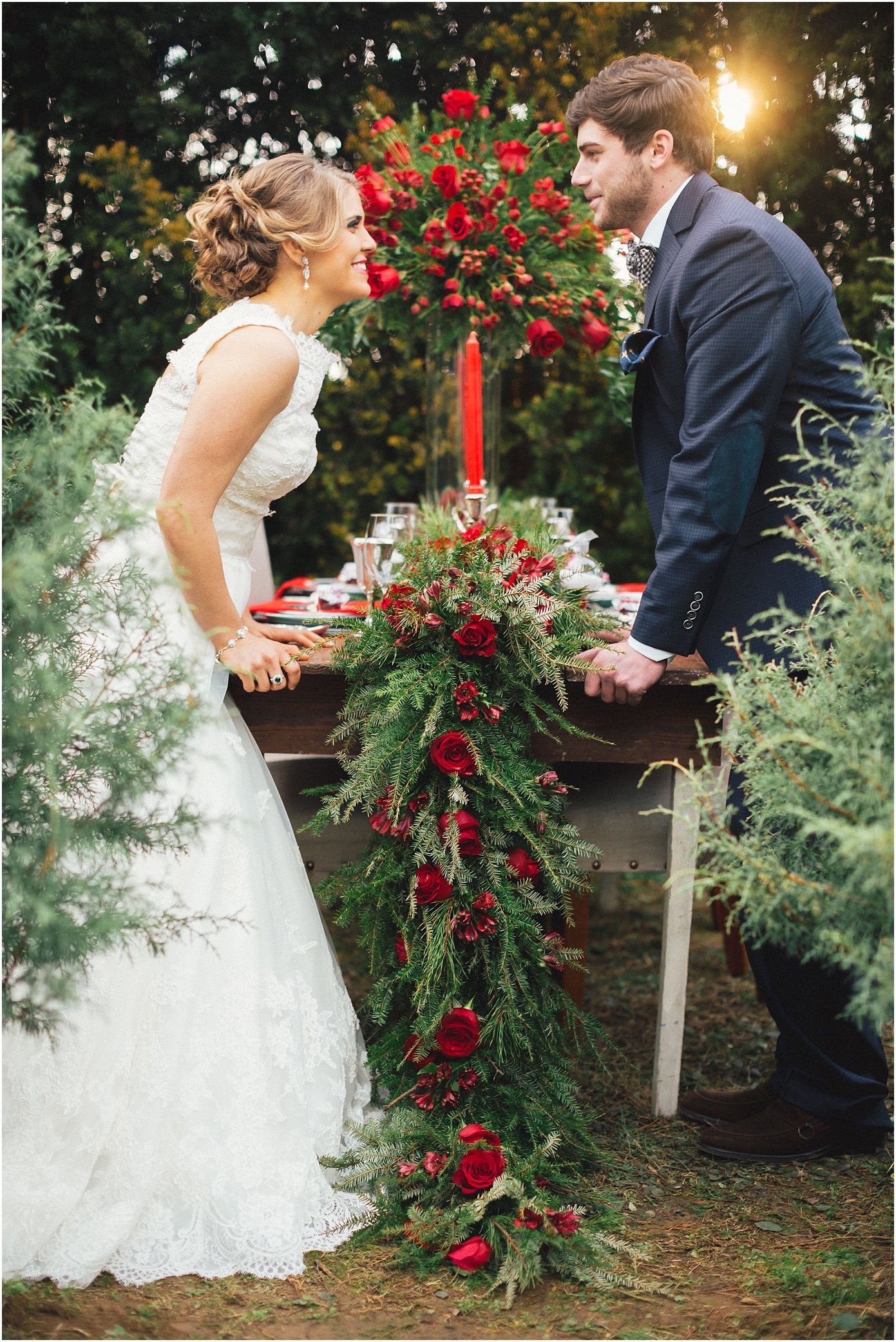 Christmas Tree Farm Wedding Inspiration And Holiday Home Decorating Ideas In Knoxville Tn Winter Wedding Winter Wedding Flowers Wedding Styles Winter Wedding