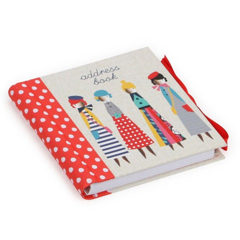 Peg dolls - Address Books at Paperchase