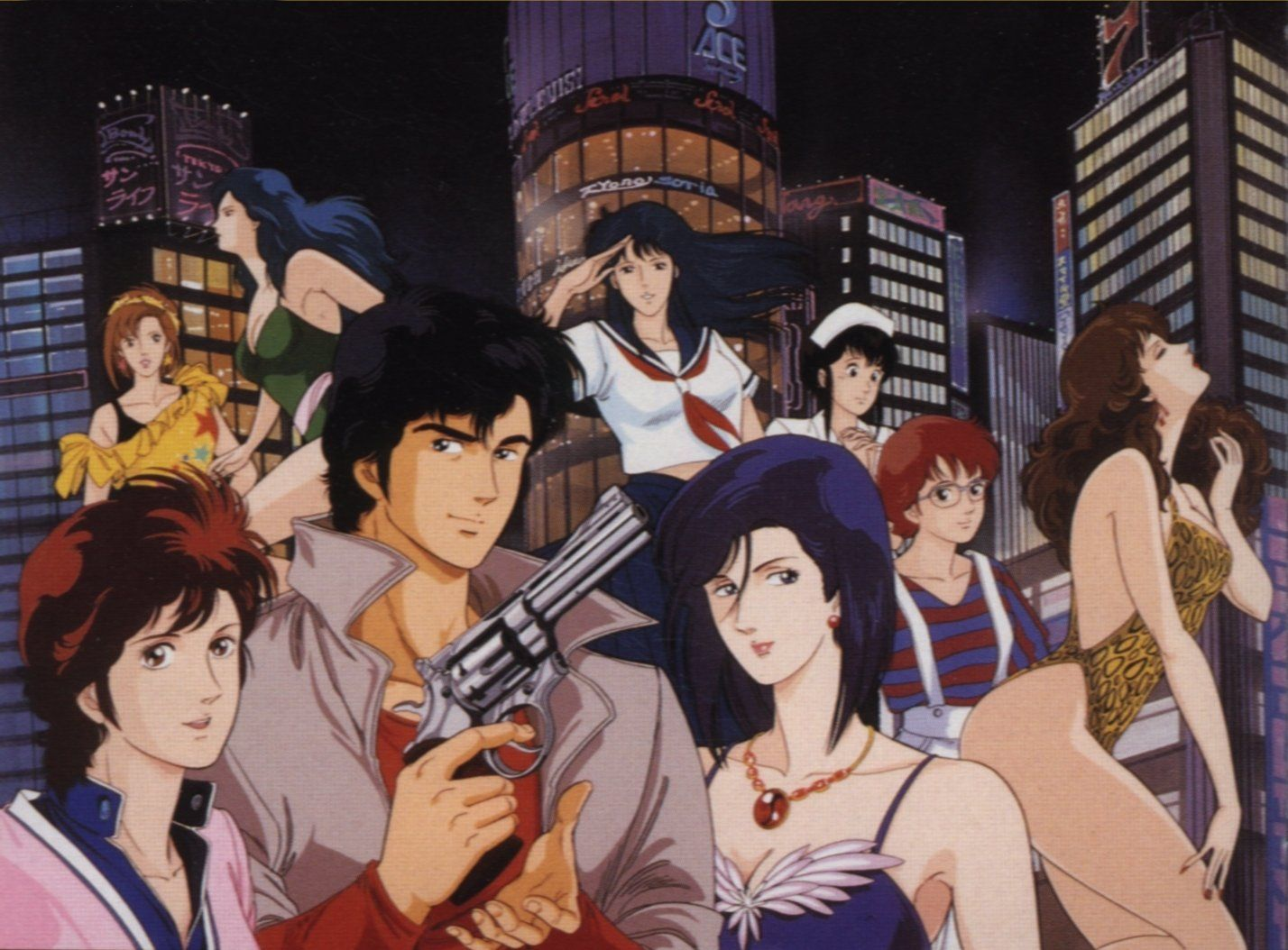 Image result for city hunter anime
