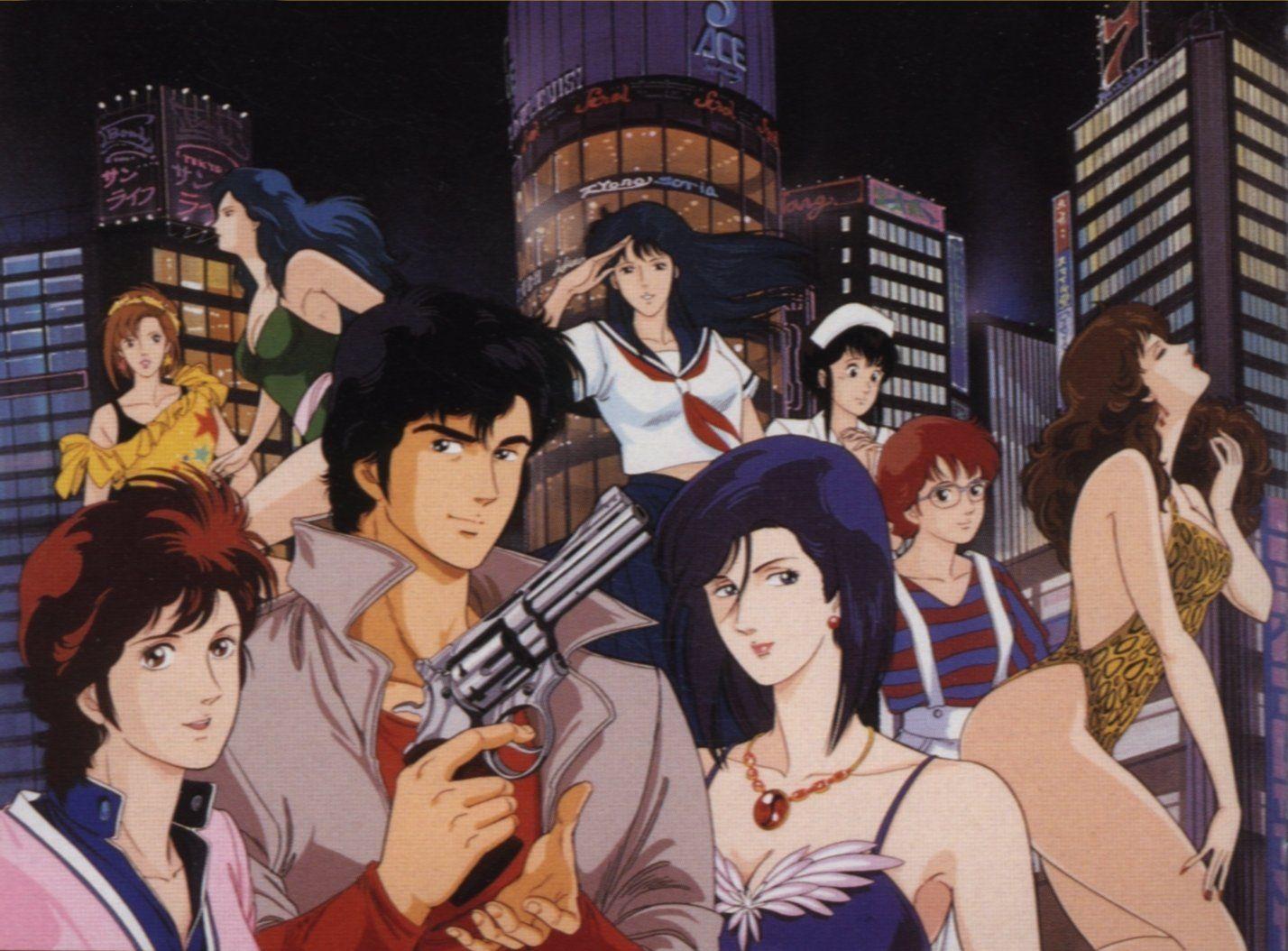 City Hunter Nicky Larson Anime Mangas Hunter Anime Anime