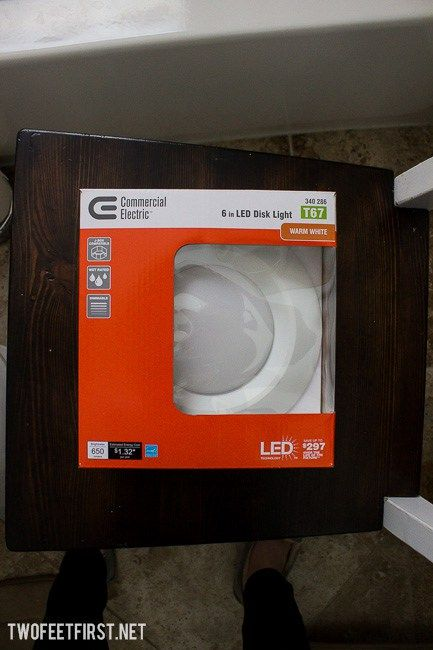 TwoFeetFirst – Switch Light Fixture to Recessed Light